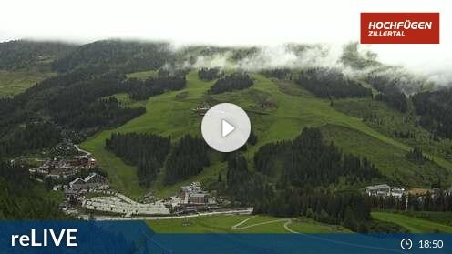 Webcam Klausboden Tal Skigebiet Hochfügen Tirol