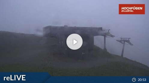 Webcam Skigebiet Hochfügen 8er Alm Berg - Tirol