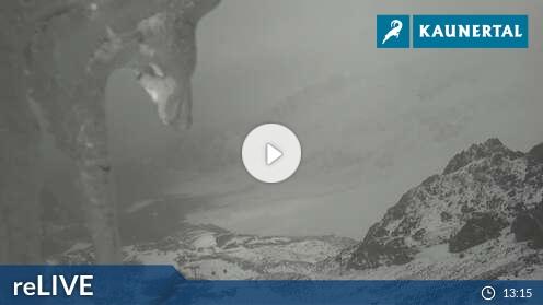 Webcam Skigebiet Kaunertaler Gletscher Karlesjoch - Tirol
