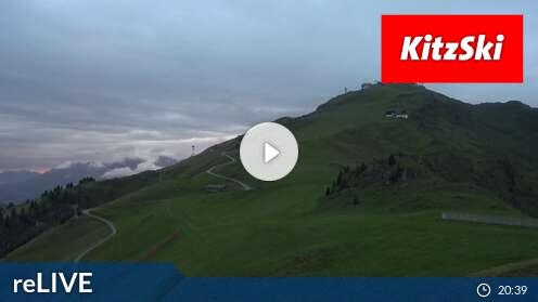 Webcam Skigebiet Kitzb�hel Kitzb�heler Hornk�pfl - Tirol
