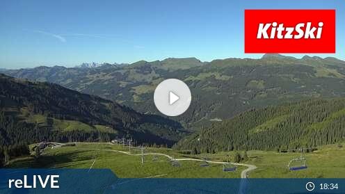 Webcam Skigebiet Kitzbühel Funpark Hanglalm - Tirol