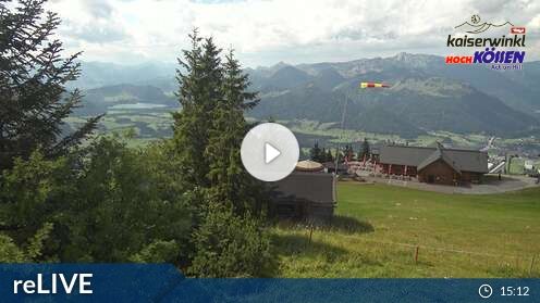 Webcam Unterberghorn Ski Resort Kössen Tyrol