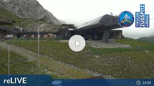 Webcam Skigebiet Lermoos - Grubigstein Grubigstein - Tirol