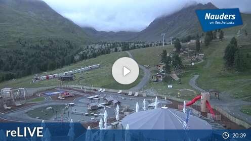 Webcam Gondelbahn Skigebiet Nauders - Reschenpass Tirol
