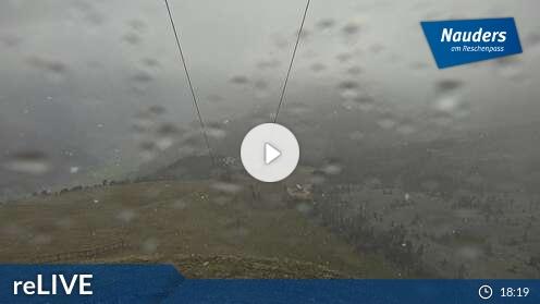 Webcam Skigebiet Nauders - Reschenpass Zirmbahn - Tirol