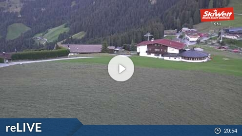 Webcam Ski Resort Hopfgarten Bergstation Gondelbahn - Tyrol