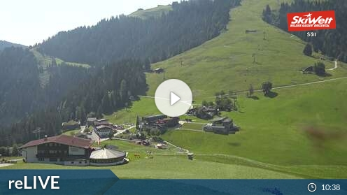 Webcam Bergstation Gondelbahn Skigebiet Going Tirol