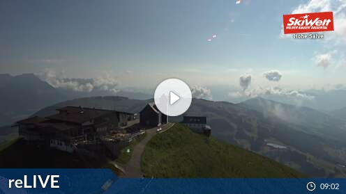 SkiWelt Wilder Kaiser Brixental - Gipfel Hohe Salve