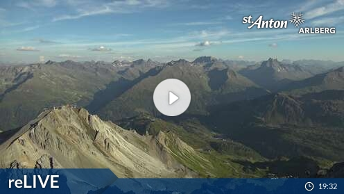 Webcam Valluga Ski Resort St. Anton - Arlberg Tyrol