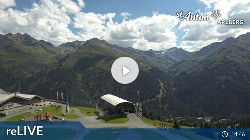 Webcam Ski Resort St. Anton - Arlberg Gampen - Tyrol