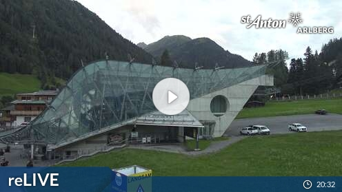 Webcam Skigebiet Lech - Z�rs Skicenter - Voralberg
