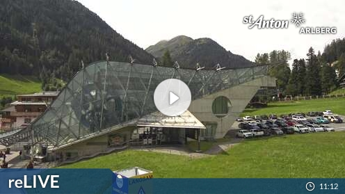 Webcam Ski Resort St. Anton - Arlberg Skicenter - Tyrol