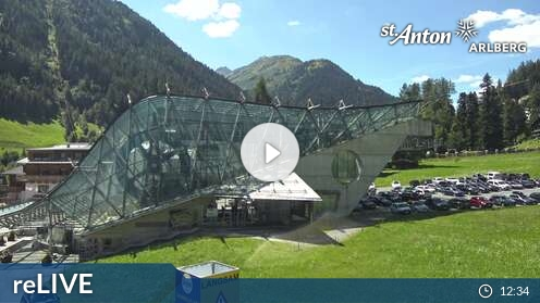 Webcam Ski Resort Warth - Schröcken Skicenter - Voralberg