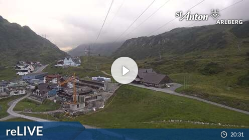 Webcam Skigebiet Lech - Z�rs St. Christoph - Voralberg