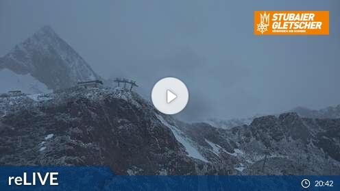 Webcam Eisgrat Skigebiet Stubaier Gletscher Tirol