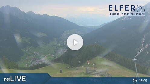 Webcam Elfer Skigebiet Neustift - Elferlifte Tirol