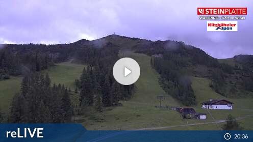 Webcam Skigebiet Steinplatte - Winkelmoosalm Bäreck - Tirol