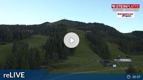 Webcam B�reck Skigebiet Steinplatte - Winkelmoosalm Tirol