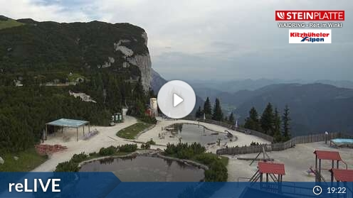 Webcam Skigebiet Steinplatte - Winkelmoosalm Kammerkör - Tirol