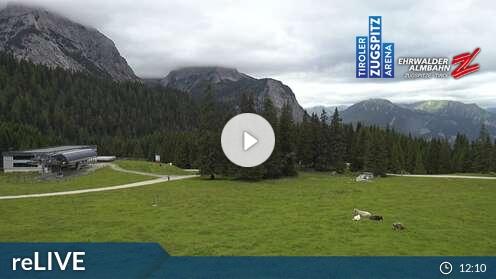 Webcam Skigebiet Ehrwalder Alm Ehrwalder Alm - Tirol
