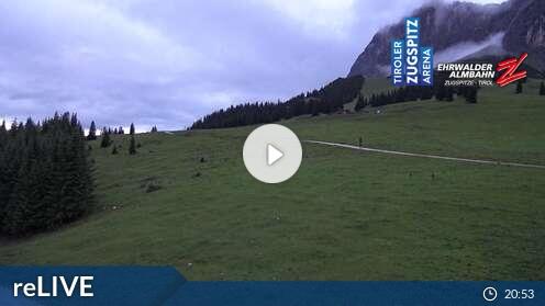 Webcam Skigebiet Ehrwalder Alm Feldernalm - Tirol