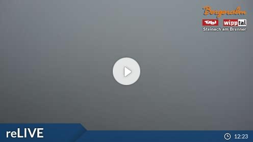 Webcam Bergeralm Skigebiet Steinach am Brenner - Bergeralm Tirol