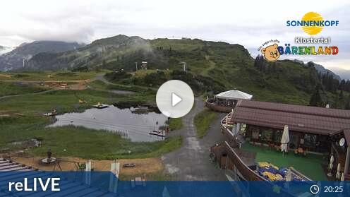 Webcam Sonnenkopf Skigebiet Sonnenkopf - Klösterle Voralberg