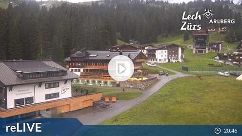 Webkamera Lech a Zürs