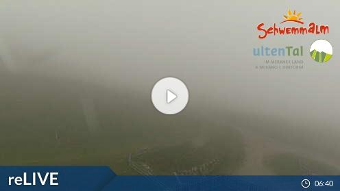 Wetter-Webcam Ulten / Bergstation Umlaufbahn Schwemmalm