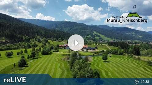 Golfplatz Murau - FlyingCam (Kreischberg)