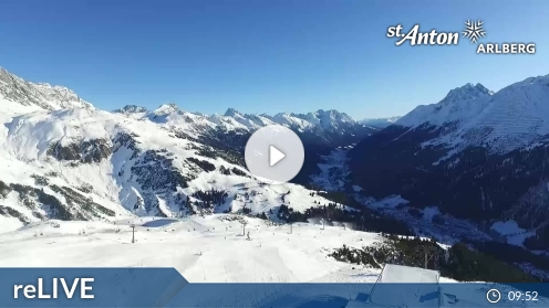 St. Anton am Arlberg Flying Cam