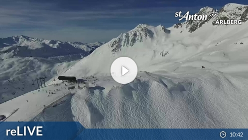 St. Anton a. A. - Gampen - FlyingCam