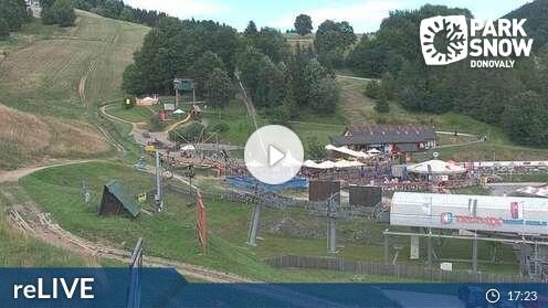 Webcam Donovaly - Nová hola