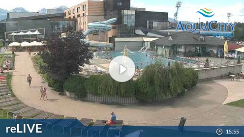 Webcam AquaCity Poprad