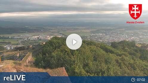 Webcam Pustý hrad Zvolen