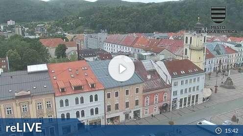Webcam Stadt Banská Bystrica