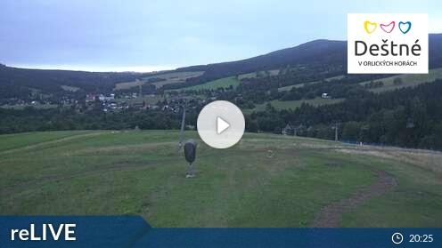 Webcam Deštné v Orlických horách