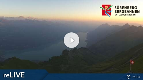 Webcam Brienzer Rothorn - Gipfelrestaurant