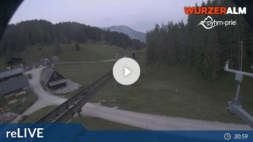 Webcam Bergstation Wurzeralm