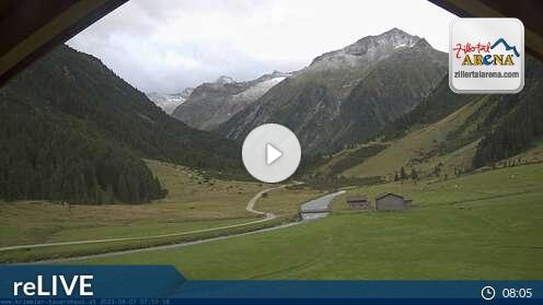 Webcam Krimmler Tauernhaus