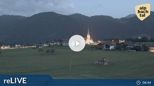 Live Webcam Wildschönau Tirol Austria