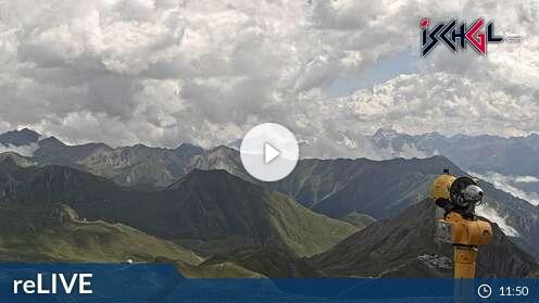 Webcam Ischgl - Greitspitz 2.872 m