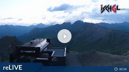 Webcam Ischgl - Palinkopf 2.864 m
