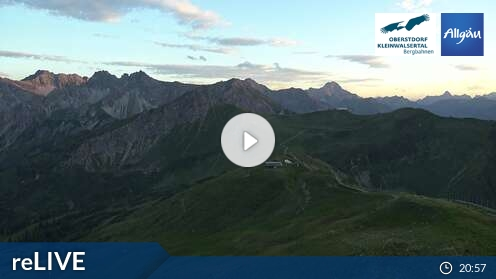Webcam Fellhorn/Oberstdorf Kleinwalsertal