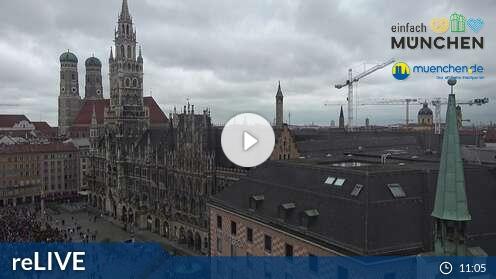 Webcam Marienplatz - Altes Rathaus München