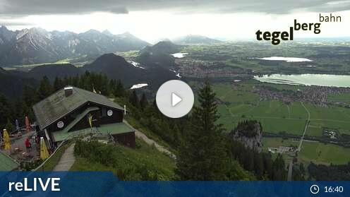 Livecam für Schwangau - Tegelberg