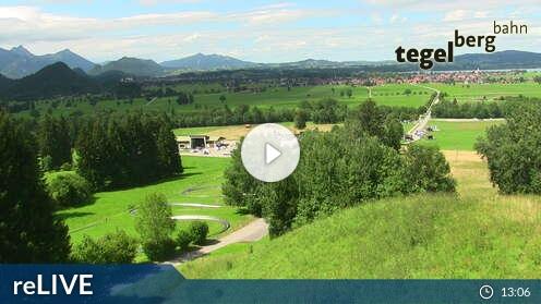 Webcam Tegelberg Talstation