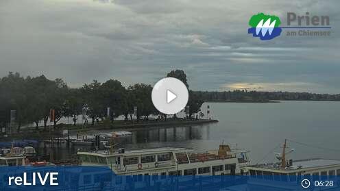 Webcam Chiemsee - Schifffahrt