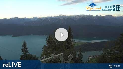 Livecam vom Herzogstand in Walchensee
