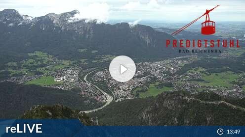 Webcam Predigtstuhl III Bad Reichenhall - Predigtstuhl